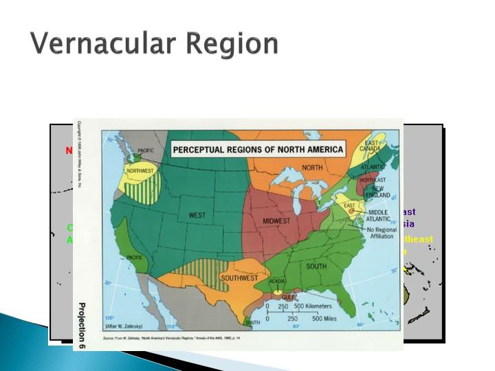 Vernacular Region