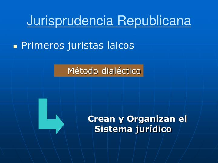 Jurisprudencia Republicana