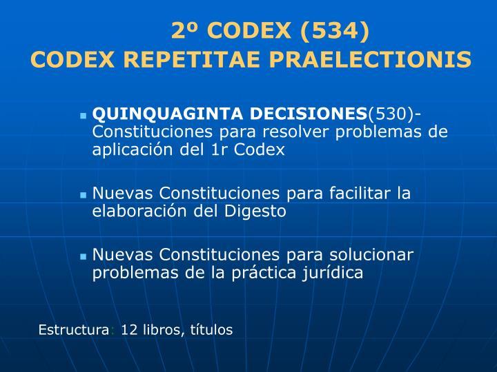 2º CODEX (534)
