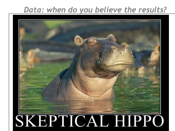 Data: when