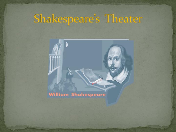 Shakespeare s theater
