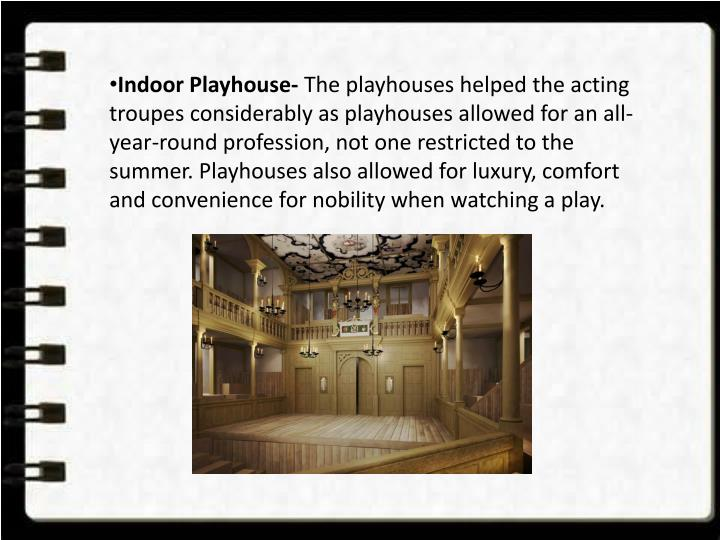 Indoor Playhouse-