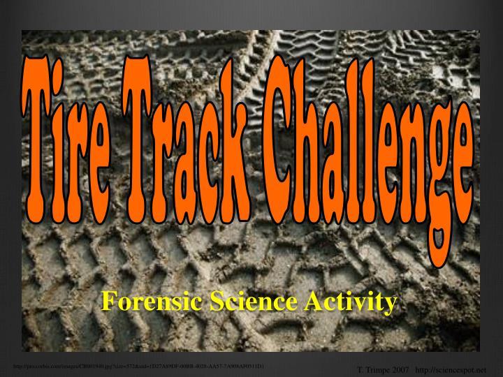 Tire Track Challenge