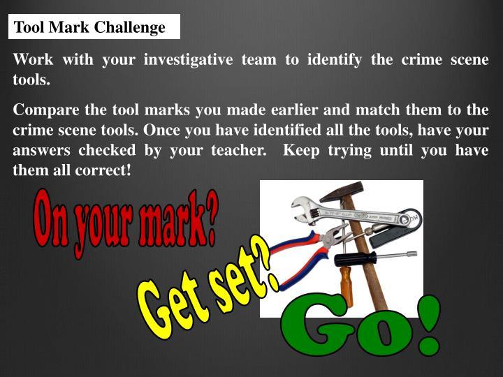 Tool Mark Challenge