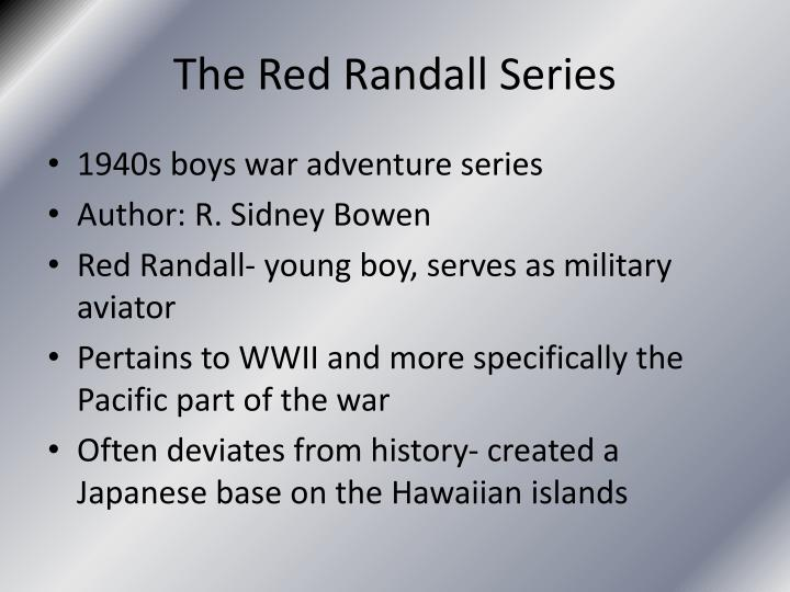 The Red Randall Series