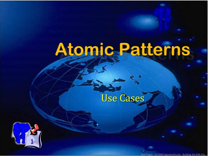 Atomic patterns