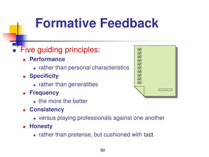 Formative Feedback