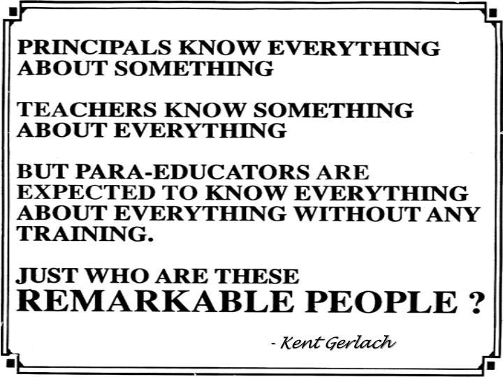 - Kent Gerlach