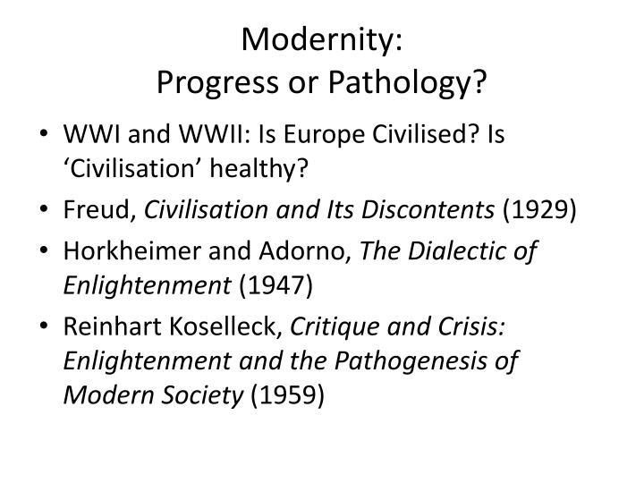 Modernity: