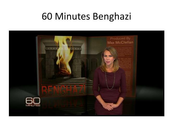 60 Minutes Benghazi