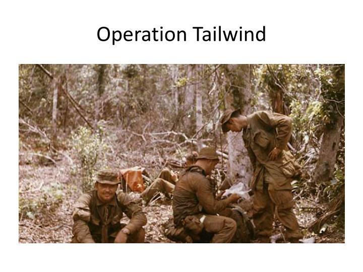 Operation Tailwind