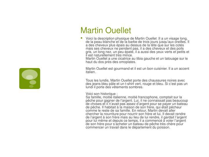 Martin Ouellet