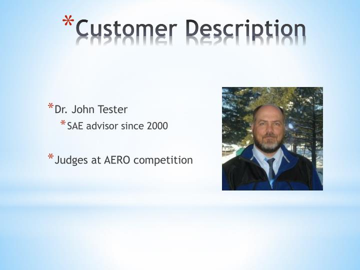 Dr. John Tester