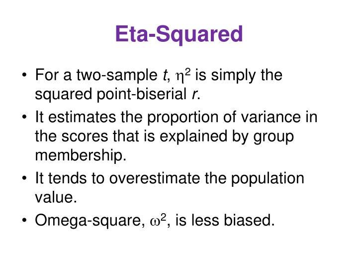 Eta-Squared