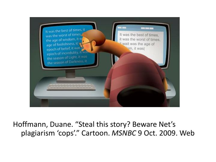"""Hoffmann, Duane. """"Steal"""
