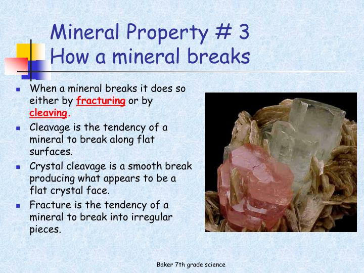 Mineral Property # 3