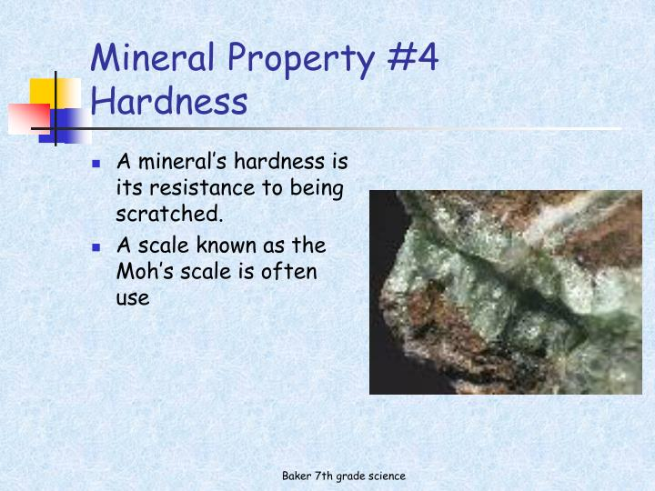 Mineral Property #4