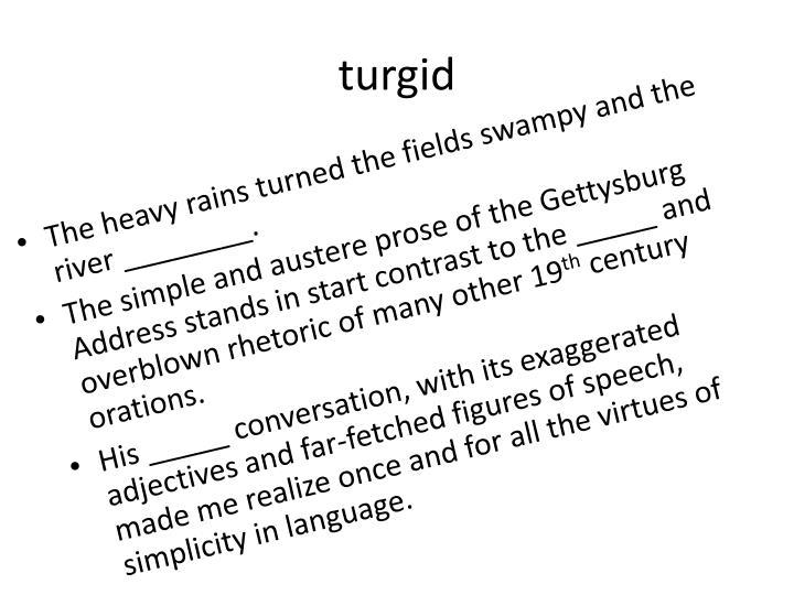 turgid