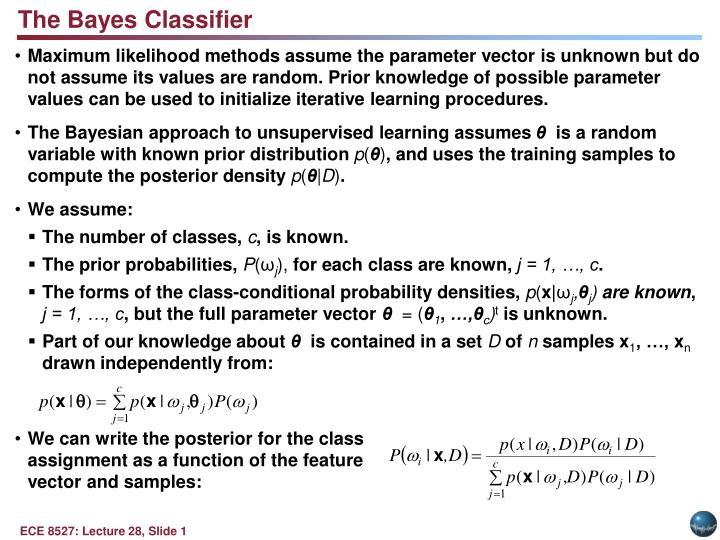 The Bayes Classifier
