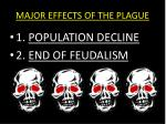 major effects of the plague