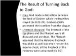 the result of turning back to god1