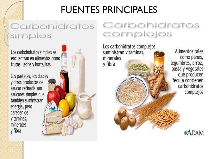 FUENTES PRINCIPALES