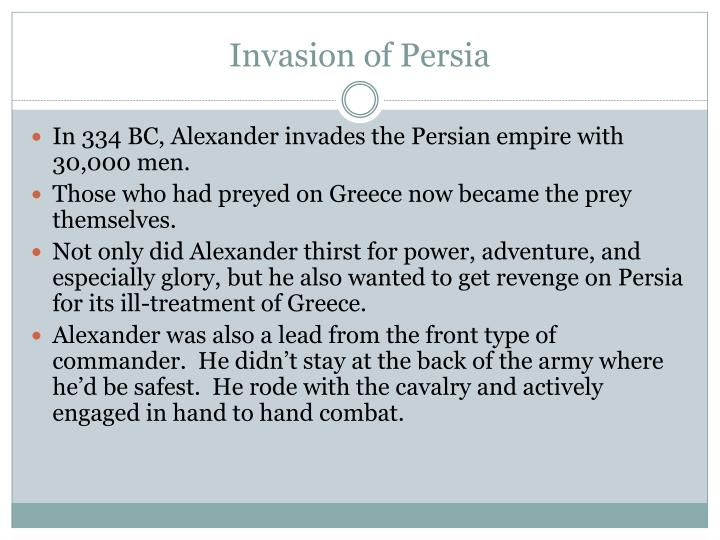 Invasion of Persia