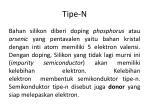 tipe n