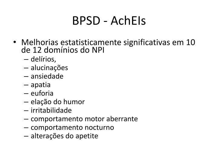 BPSD - AchEIs