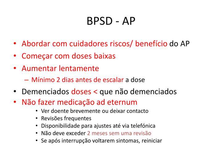 BPSD - AP