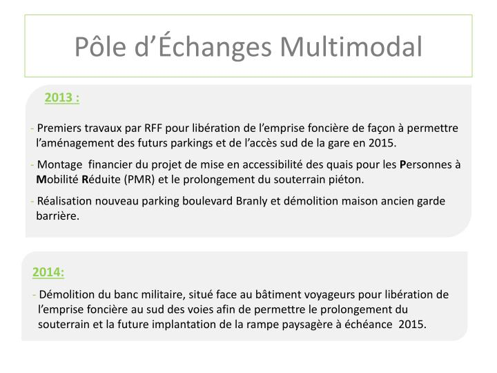 Pôle d'Échanges Multimodal