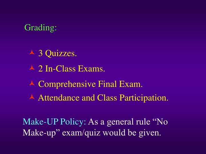 Grading: