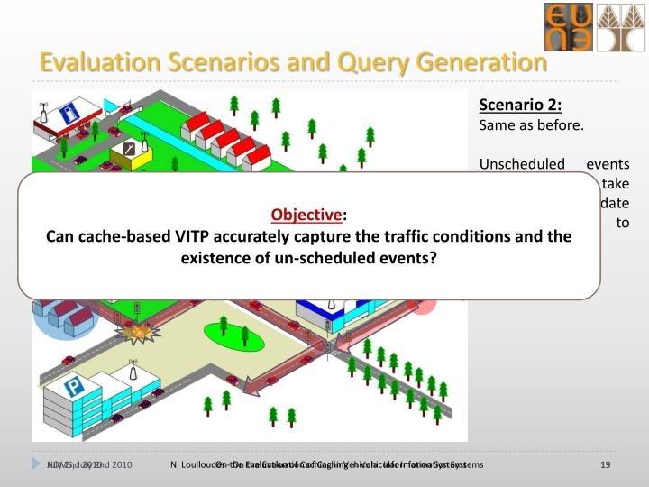 Evaluation Scenarios and Query Generation