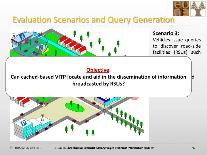 Evaluation Scenarios and Query Generation