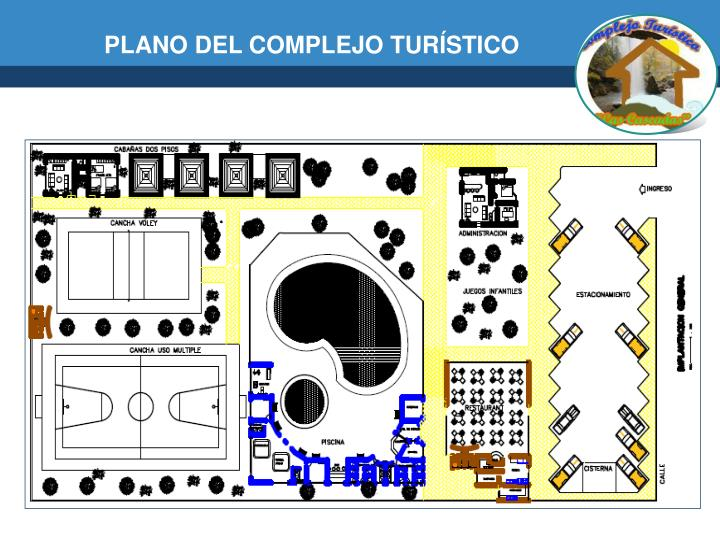 PLANO DEL COMPLEJO TURÍSTICO