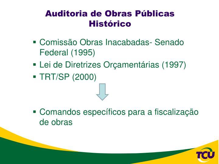Auditoria de Obras Públicas