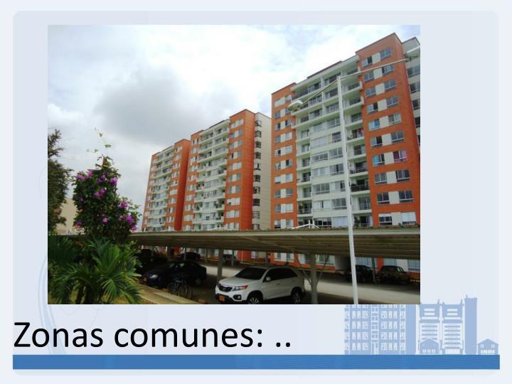 Zonas comunes: