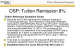 osp tuition remission 8