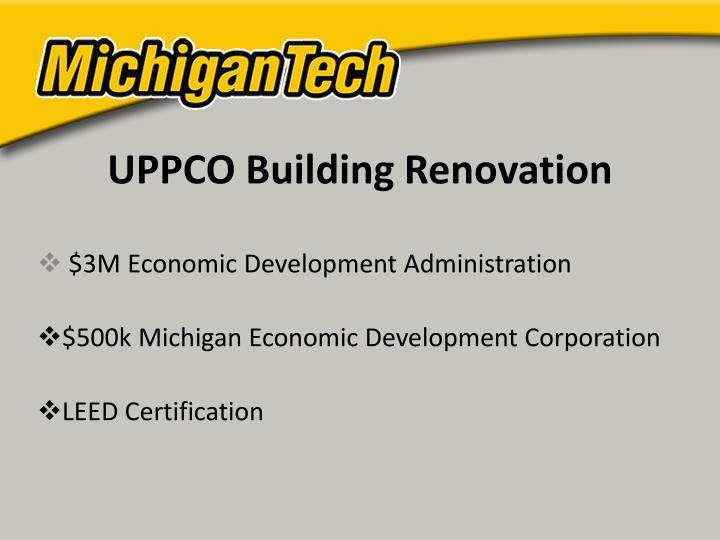 UPPCO Building Renovation