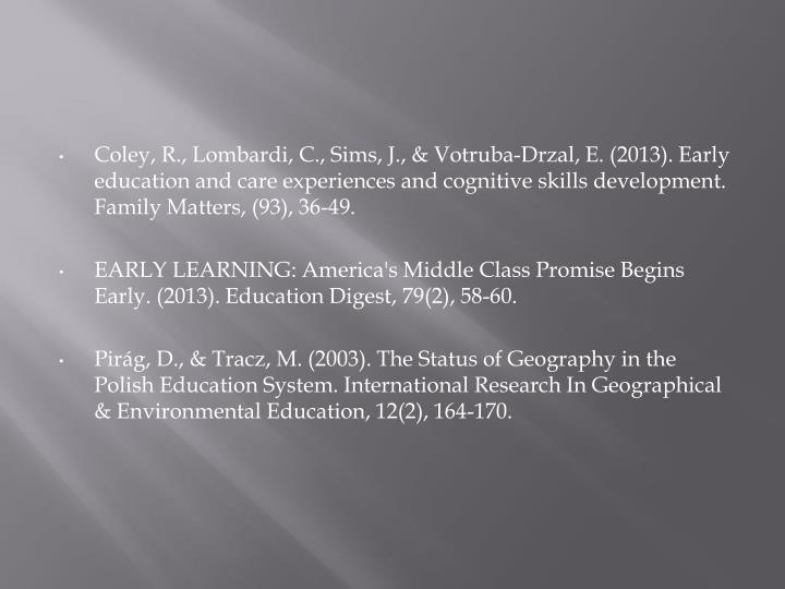 Coley, R., Lombardi, C., Sims, J., &