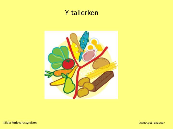 Y-tallerken