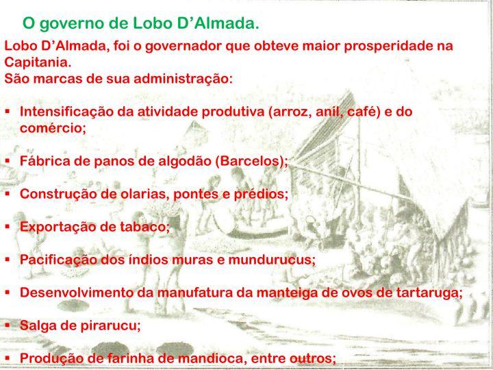 O governo de Lobo