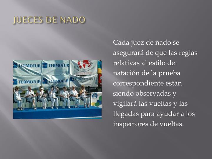 JUECES DE NADO