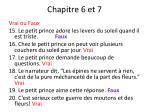 chapitre 6 et 71