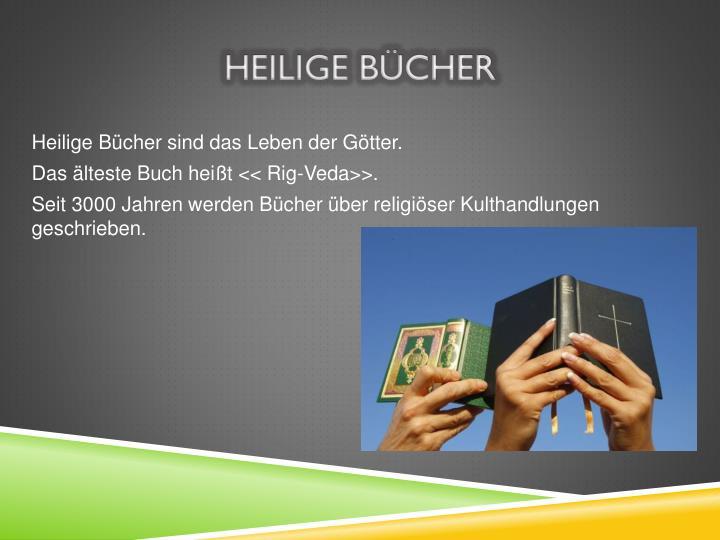 Heilige Bücher