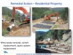 remedial action residential property