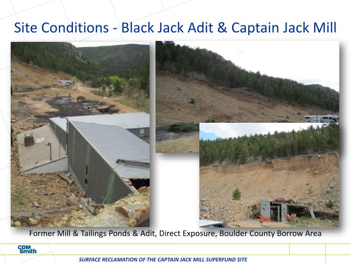 Site Conditions - Black Jack