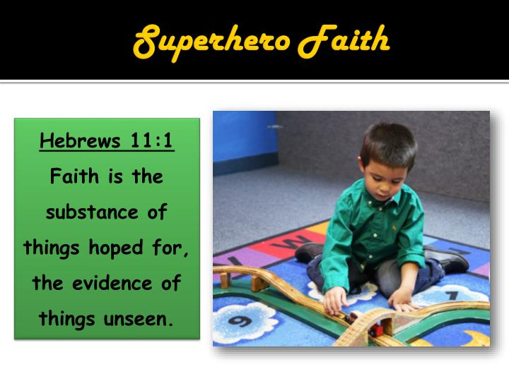 Superhero Faith