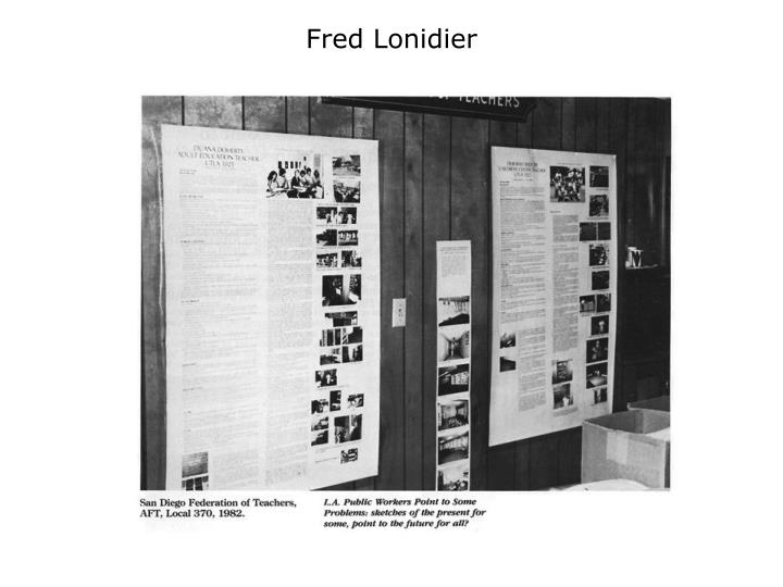 Fred Lonidier