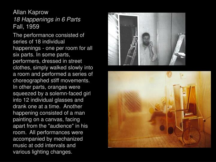 Allan Kaprow